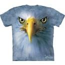Eagle Shirt Tie Dye Bird Face T-shirt Adult Tee