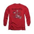 Ed, Edd N Eddy Shirt Long Sleeve Gang Red Tee T-Shirt