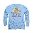 Ed, Edd N Eddy Shirt Long Sleeve Jawbreakers Carolina Blue Tee T-Shirt