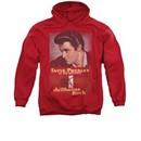 Elvis Presley Hoodie Jailhouse Rocker Poster Red Sweatshirt Hoody