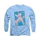 Elvis Presley Shirt Splatter Hawaii Long Sleeve Carolina Blue Tee T-Shirt