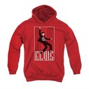 Elvis Presley Youth Hoodie One Jailhouse Red Kids Hoody
