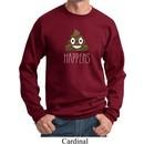 Emoji Shit Happens Sweatshirt