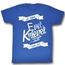 Evel Knievel Shirt Est 1966 Adult Royal Tee T-Shirt