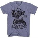 Evel Knievel Shirt Since 1966 Heather Purple T-Shirt