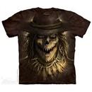 Evil Scare Crow Shirt Tie Dye Adult T-Shirt Tee