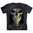 Face Of Death Shirt Tie Dye Adult T-Shirt Tee
