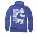 Family Guy Hoodie Peed Royal Blue Sweatshirt Hoody
