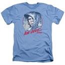 Fargo Shirt Aw Jeez Heather Light Blue T-Shirt