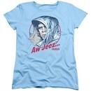 Fargo Womens Shirt Aw Jeez Light Blue T-Shirt