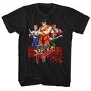 Final Fight Video Game Shirt Logo Black T-Shirt