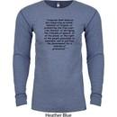 First Amendment Long Sleeve Thermal Shirt