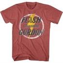 Flash Gordon Shirt AAAA-AHHHH! Red Heather T-Shirt