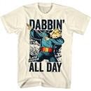 Flash Gordon Shirt Dabbin' All Day Natural T-Shirt