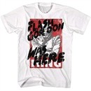 Flash Gordon Shirt Graffiti White T-Shirt