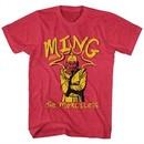 Flash Gordon Shirt Ming The Merciless Red Heather T-Shirt