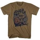 Flash Gordon Shirt Ray Gun Brown Heather T-Shirt