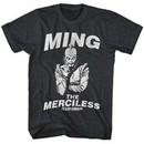 Flash Gordon Shirt The Merciless Heather Black T-Shirt