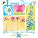 Gifts Flowers Love Peace & Harmony Tee Shirt