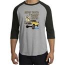 Ford Truck Raglan Shirt Driving and Tagging Bucks Grey/Black T-Shirt