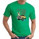 Ford Truck T-shirt Driving and Tagging Bucks Kelly Green Tee Shirt