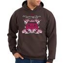Ford Mustang Hoodie Hooded Sweatshirt Girls Run Wild Brown Hoody