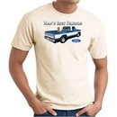 Ford Man's Best Friends Classic Truck Adult T-Shirt- Natural