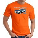 Ford Man's Best Friends Classic Truck Adult T-Shirt- Orange