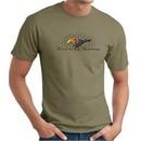 Ford Mustang T-shirt Make It My Mustang Grill Army Green Tee Shirt