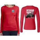 Ford F-150 Off Road Machine (Front & Back) Ladies Long Sleeve