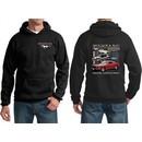 Ford Hoodie Mustangs Untamed (Front & Back) Hoody