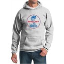 Ford Mustang Hoodie Shelby Cobra Blue and Red Logo Hoody