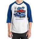 Ford Mustang Mens Shirt GT 500 Raglan Tee T-Shirt