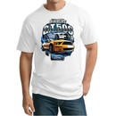 Ford Mustang Mens Shirt Yellow White GT500 Tall Tee T-Shirt