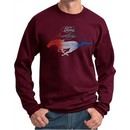 Ford Mustang Red White and Blue Sweatshirt