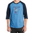 Ford Mustang Shirt Stripe Mens Raglan Tee T-Shirt