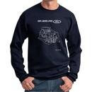Ford Sweatshirt Engine Parts Sweat Shirt