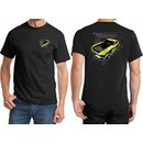 Ford Tee Yellow Mustang Boss (Front & Back) T-shirt