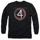 Foreigner Long Sleeve Shirt 4 Album Black Tee T-Shirt