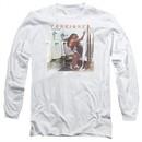 Foreigner Long Sleeve Shirt Head Games White Tee T-Shirt