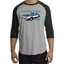 Ford Trucks Shirt Mans Best Friend Raglan Tee Heather Grey/Black
