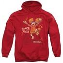 Fraggle Rock Hoodie Dance Red Sweatshirt Hoody