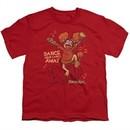 Fraggle Rock Kids Shirt Dance Red T-Shirt