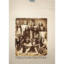 Native American Shirt Freedom Fighters Native Americans Natural Tee