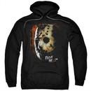 Friday the 13th Hoodie Jason Voorhees Mask Black Sweatshirt Hoody