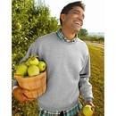 Fruit of the Loom Super Cotton Blended Crewneck Sweatshirt