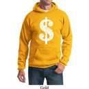 Funny Hoodie Distressed Dollar Sign Hoody