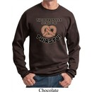 Funny Sweatshirt Thirsty Pretzels Sweat Shirt