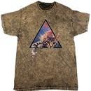 Galactic Cat Mineral Tie Dye T-shirt