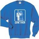 Game Over Funny Married Groom Marriage Sweatshirt